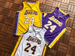 Nike Nike NBA Lakers No. 24 Kobe KOBE Basketball Jersey  老大3色球衣